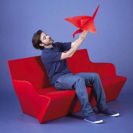 Canapea de grădină cu brațe Slide Kami Yon fabricate în Italia