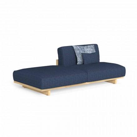 Canapea de exterior cu design modular, cu puf stânga sau dreapta - Argo by Talenti