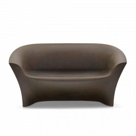 Canapea de design în aer liber din polietilenă colorată Made in Italy - Conda