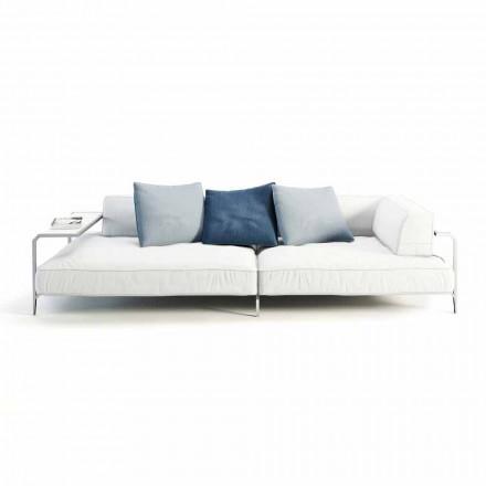 Canapea de exterior tapițată în țesătură de design modern Fabricată în Italia - Arkansas