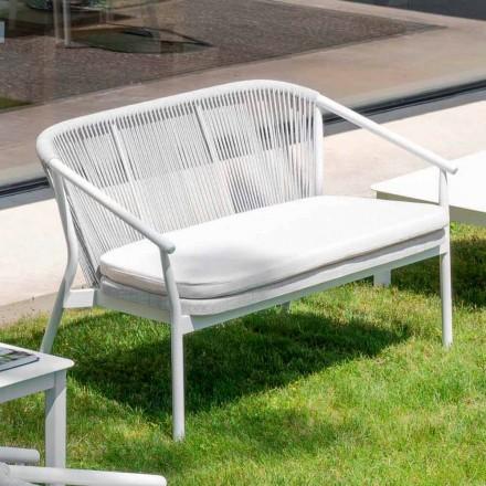Canapea cu două locuri, canapea, ambalată în aer liber - Smart by Varaschin
