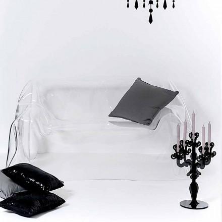 Design modern canapea plexiglas Jolly, a făcut în Italia