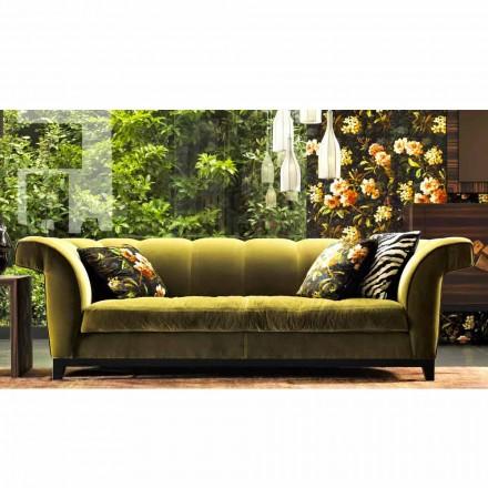 Proiectați 3 canapele tapițate de Grilli Shell realizate manual în Italia