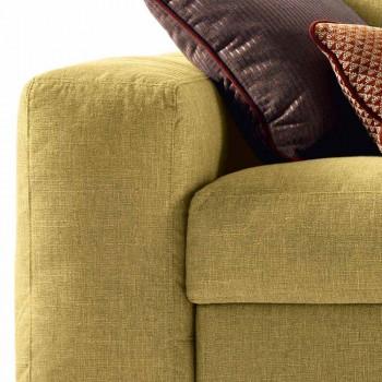 3 canapea din material textil Grilli George fabricată în Italia