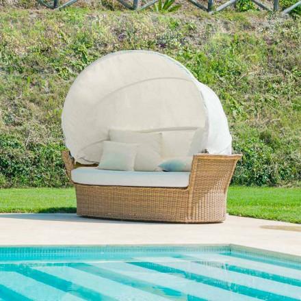 insulă canapea grădină relaxantă cu Hector a făcut țesut manual, design modern