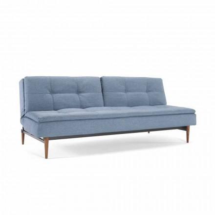 Reglabil canapea albastru în trei poziții Dublexo Inovare