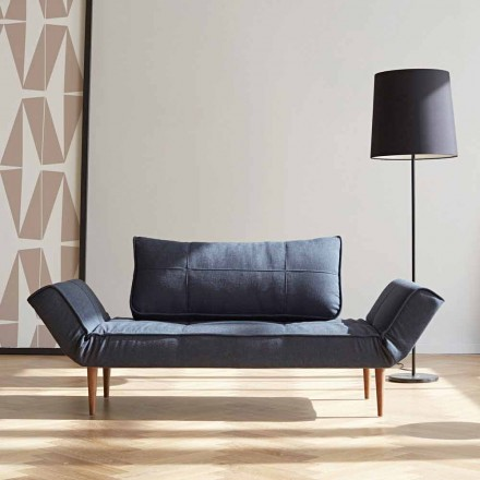 Canapea extensibilă cu design modern Zeal by Innovation în țesătură tapițată