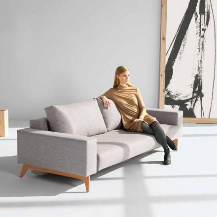 Canapea gri modern, pat de design scandinav de Innovation Idun