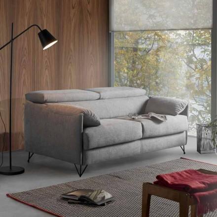 Canapea extensibilă în design de țesături detașabile din Italia Vittorio