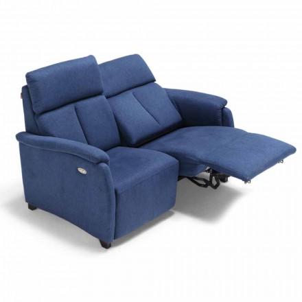 Motorizata Canapea 2 locuri cu scaune electric Gelso 1, design modern