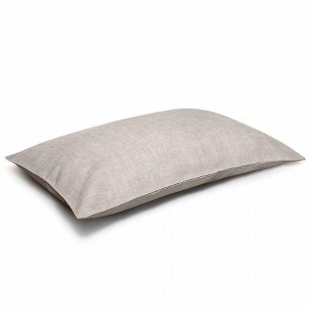 Fata de pernă de pat natural din lenjerie naturală Made in Italy - Blessy