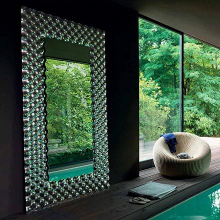 Oglindă modernă de perete / podea Fiam Italia Pop 216x116cm fabricată în Italia
