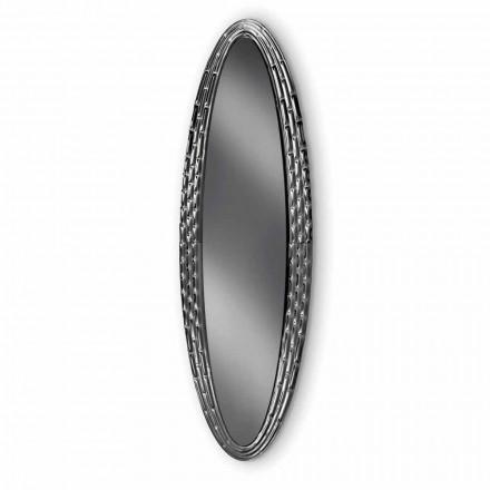Oglindă eliptică de perete Fiam Veblèn Pasha fabricată în Italia