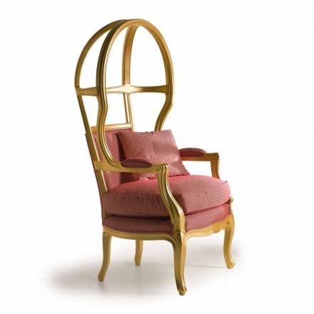 Fratelli Boffi Babette din lemn de proiectare scaun capitonate cu material textil