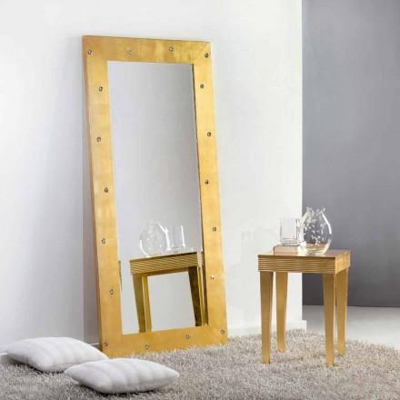 Oglinda mare podea / perete, cu cristale Swarovski Vivien