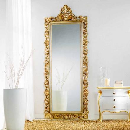 oglindă mare podea / perete cu design clasic, Tiara, 86x220 cm
