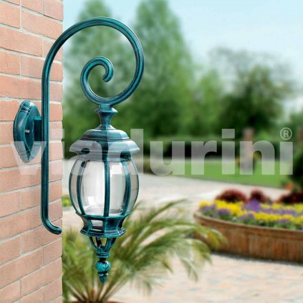 Lampă turnată încastrată în exterior, realizată din aluminiu turnat sub presiune, Anika