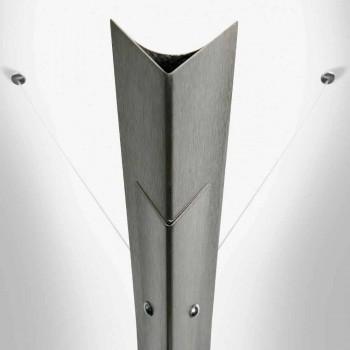 Aplica de perete din metal, cu LED integrat, fabricat în Italia - Celine