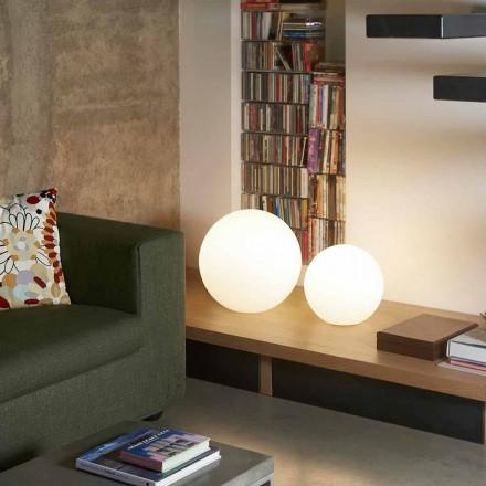 Lampă de masă modernă / masă Slide Globo, fabricată în Italia