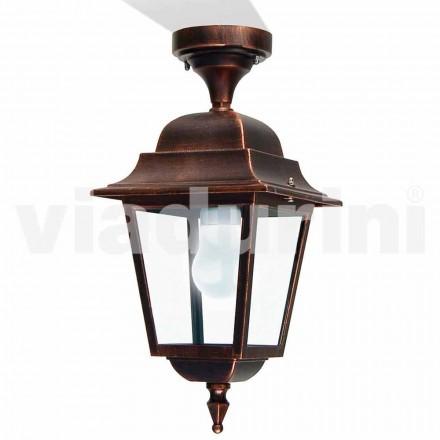 Lumina de plafon din aluminiu, realizată în Italia, Aquilina