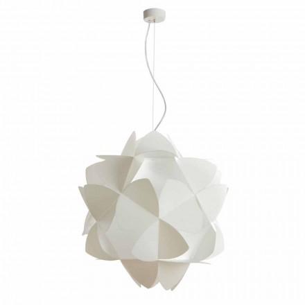 pandantiv lampa 3 perla lumini albe, cu diametrul de 63 cm, KALY