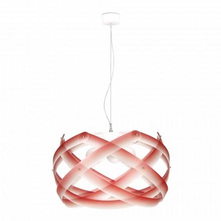 pandantiv lampa 3 lumini 67 cm diametru metacrilat Vanna