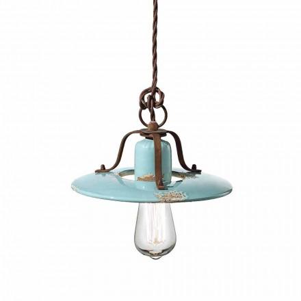 suspensie țară Lampa de ceramică și metal Sara Ferroluce