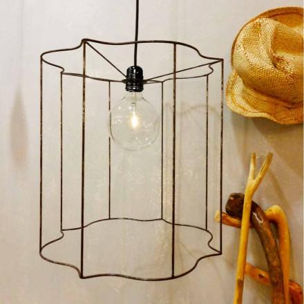 Lampă de proiectare / podea de proiectare cu cușcă Cigno
