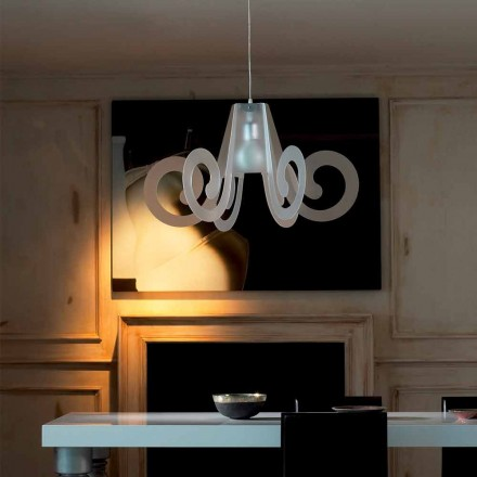 lampă de design pandantiv în diaemtro metacrilat de 75 cm Rania