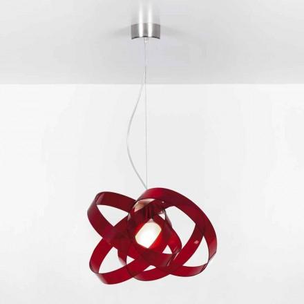 Candelabru design modern metacrilat, diam.56cm Ferdi