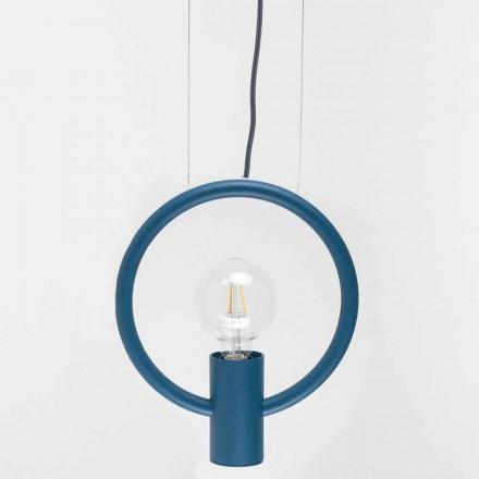 Lampă suspendată de design din oțel Made in Italy - Delizia