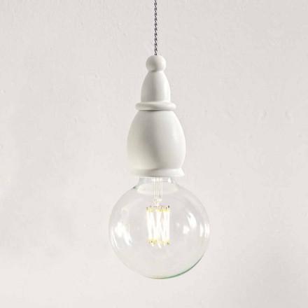Lampa de ceramică Shabby Made in Italy - Soarta de Aldo Bernardi