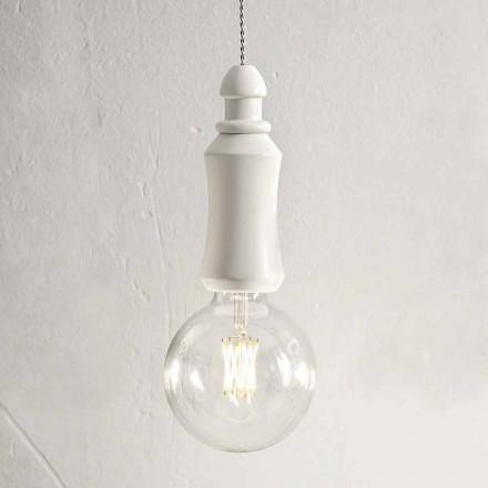 Lampă suspendată ceramică Shabby Fabricată în Italia - Soarta Aldo Bernardi
