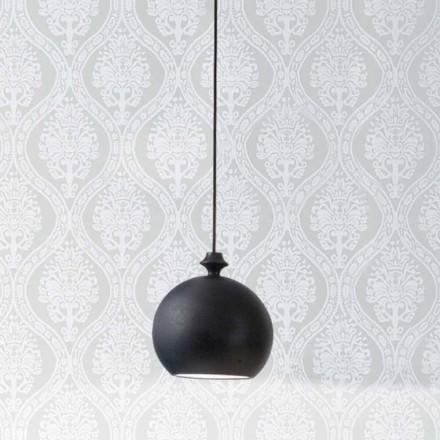 Lampa de suspensie în ceramică Lustri 5, a crescut la 2 ieșiri la 180 °