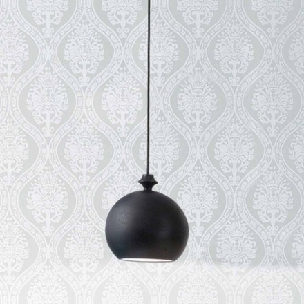 Lampa de suspensie în ceramică Lustri 5, a crescut la 2 ieșiri la 90 °