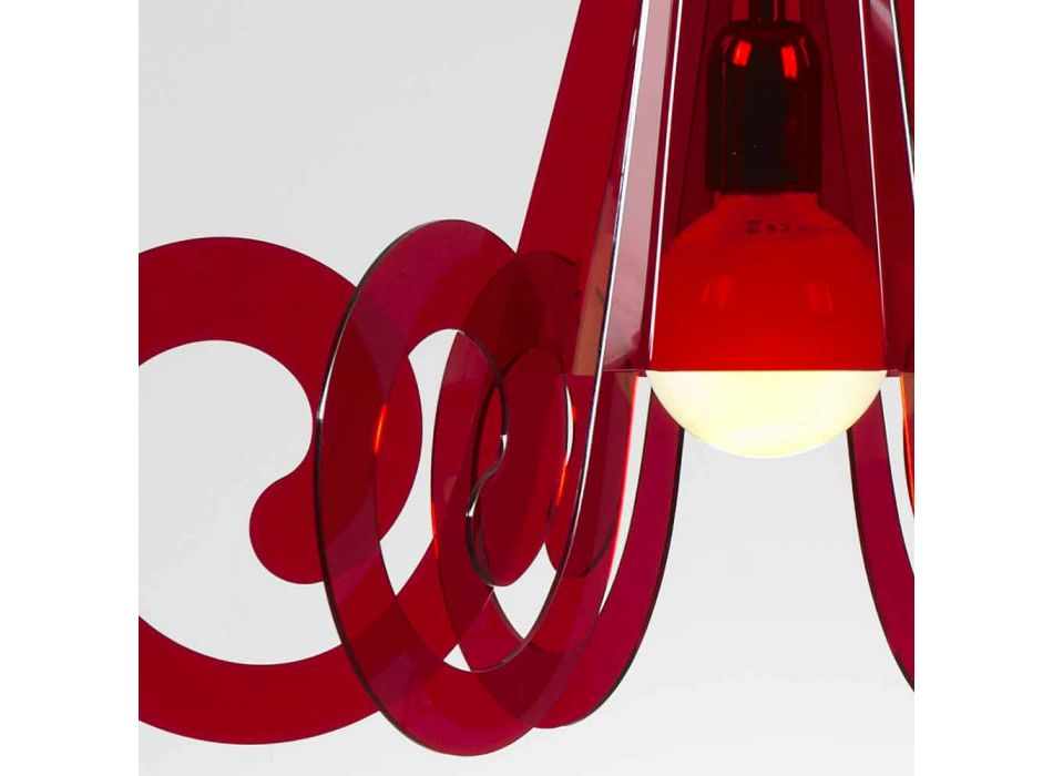 Agățat lampă în moderne de design diam metacrilat. 55cm Livia