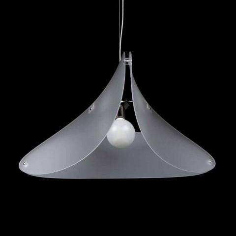 Agățat lampă în design modern, metacrilat de diam.90 cm Nina