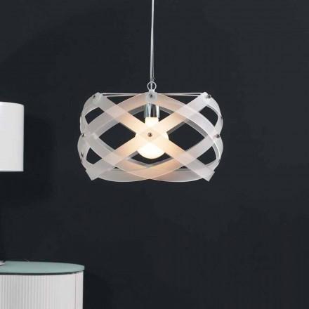pandantiv lampa Contemporary în metacrilat de 40 cm diametru Vanna