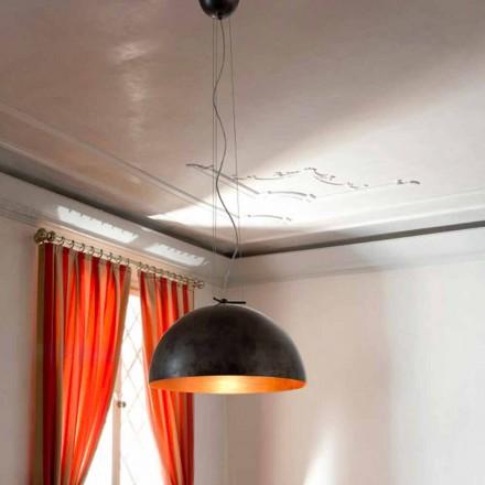 Lampă suspensie mică din oțel Moonlight
