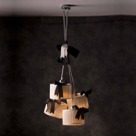 Chanel lampă cu lampă de epocă de 4 lumină
