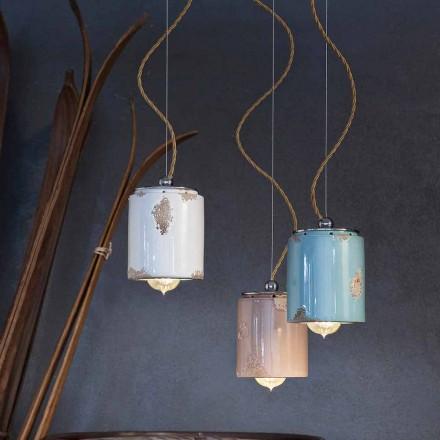 Pandantiv lampă artizan de epocă Ferroluce