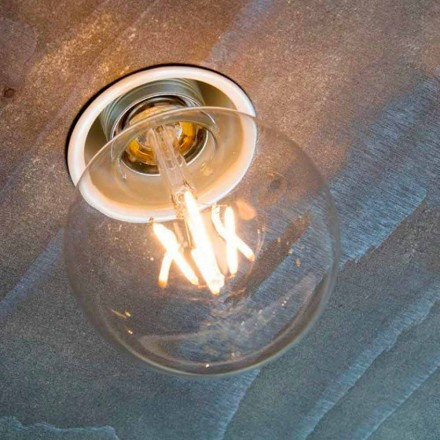 Lampă încastrată manuală din aluminiu alb Fabricat în Italia - Frana