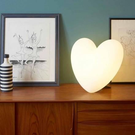Colour Slide Love inima lampă de masă făcute în Italia