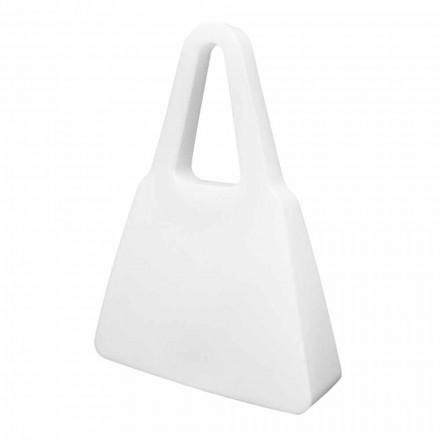 Lampă albă de masă sau de podea pentru interior sau exterior - Borsastar