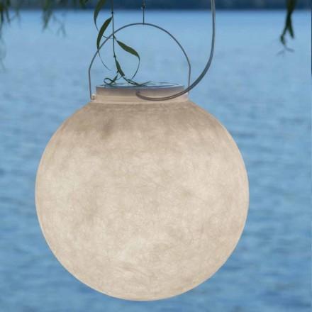 Lampă de suspensie în exterior In-es.artdesign Luna Afară în nebulită