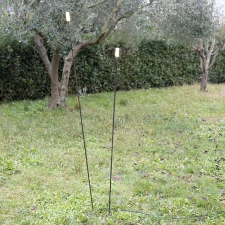 Lampă de exterior în fier pictat Minimal Design Made in Italy - Filo
