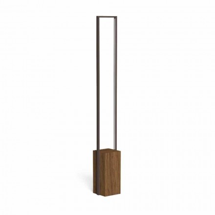Lampă de exterior cu LED din oțel colorat și 3 dimensiuni - Casilda de Talenti