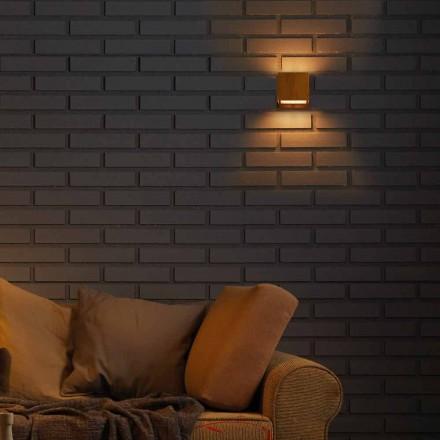 Design lampa de perete din alamă și oțel 11xH11xsp.10 cm Venus