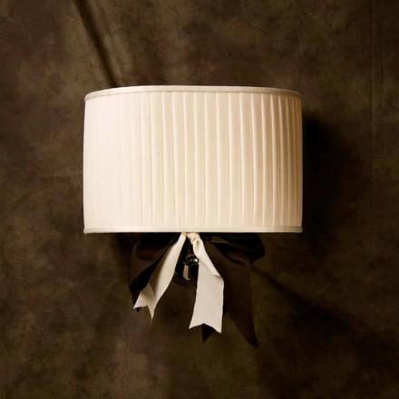 Chanel lampă de perete de design de epocă în mătase din fildeș