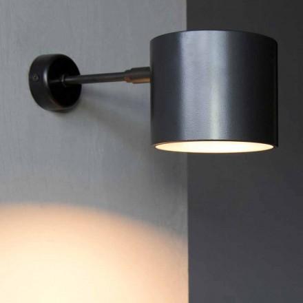 Lampă de perete din fier și aluminiu artizanal Fabricat în Italia - Trema
